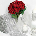 Diamond Mesh Wrap Cake Roll Rhinestone Ribbon Wedding Favor Decor Party Supplies