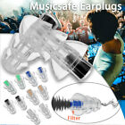 27db Noise Canceling Earplug For Concert Musician Motorcycle Hearing Protection