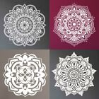 Indian Mandala Wall Sticker Floral Removable Diy Decal Home Window Mural Decor