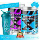 2x Max's Lab Series BetaPump Red Alert Beta Pump Muscle Pre Workout Nitric Oxide