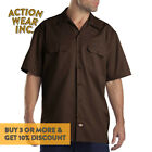 DICKIES 1574 MEN PLAIN BUTTON UP SHORT SLEEVE SHIRT FORMAL WORK UNIFORM SHIRTS <br/> *BUY 2 OR MORE & GET 10% DISCOUNT. BUY WITH CONFIDENCE*