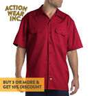 DICKIES 1574 MEN&#039;S WORK SHIRT SHORT SLEEVE WORK UNIFORM BUTTON UP SHIRTS S - 5XL <br/> *BUY 2 OR MORE &amp; GET 10% DISCOUNT. BUY WITH CONFIDENCE*