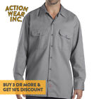 DICKIES 574 MEN&#039;S LONG SLEEVE BUTTON FRONT SHIRT WORK SHIRTS UNIFORM COLLAR  <br/> *BUY 2 OR MORE &amp; GET 10% DISCOUNT. BUY WITH CONFIDENCE*