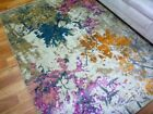 Soft Feel Modern Contemporary Design Area Floor Rugs Enlighten Multi Colour Autu