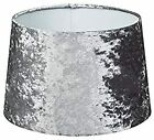 """New Luxe Crushed Velvet Effect Dual Purpose Lampshade Pendant Shade 9"""""""