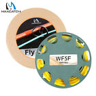 Maxcatch Gold Floating Fly Fishing Line WF2-9F 90/100FT with 2 Welded Loops