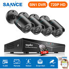 SANNCE 1080P HDMI 4CH 5in1 DVR 1500TVL 720P Security Camera System NO HDD/ 1TB
