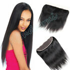 "13""x4"" Lace Frontal Brazilian 8A Straight Virgin Human Hair Lace Closure"