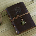 Vintage Classic Leather Journal Travel Notepad Notebook Blank Diary 8color chose