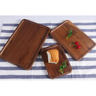 S/ M/ L Wooden Serving Tray with Handles Home Serving Tea Breakfast Platter