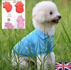 UK Dog Clothing T Shirt for Small Dogs Chihuahua Yorkie Teacup Polo Shirt Tee