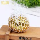 Squishy Mesh Grape Ball Anti Stress Reliever Squeeze ADHD Pressure Toys Gifts
