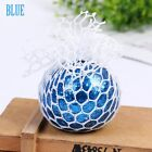 Spongy Mesh Grape Ball Anti Stress Reliever Squeeze ADHD Pressure Toys Gifts
