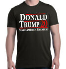 Donald Trump '20 Make America Greater! T-Shirt MAGA For President 2020 Political image