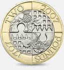 2002 Commonwealth Games 2 Pounds Coins