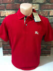 Burberry Brit Man Casual Check Short Sleeve Polo Shirt