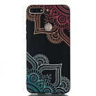 For Huawei Y6 Y7 Pro 2018 Honor 10 7A Painted Slim Back Case Soft Silicone Cover