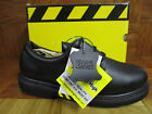 Mountain High Men's Black Leather Work Shoes