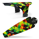 MTB Mudguard Set Mountain Bike Bicycle Fender Front & Rear RideGuard UK Made. <br/> Zip Ties included, UK Seller Fast Free Shipping Clip On