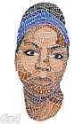 Nina Simone Lyrical Calligram Poster or Art Print
