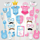 Baby Shower Girl or Boy Mummy To Be Sashes Balloon Bunting Photo Props Pompoms