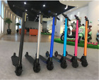 Foldable Electric Kick Scooter Height Adjustable 2 Wheels Led Light for Adults