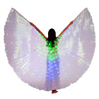 Dance Fairy Belly Dance LED Angel Isis Wings with Sticks