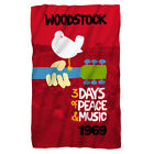Woodstock 3 Days of Peace & Music 1969 CLASSIC Lightweight Polar Fleece Blanket image