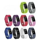 10 Pack Wristband For Fitbit Charge 2 Watch HR Replacement Silicone Accessories