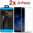 Внешний вид - 2x For Samsung Galaxy S8 PLUS /Note 8 Curved Screen Protector Tempered Glass