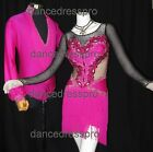 #2866 Ready-made Ballroom Latin Dance pair - Lady's Dress & Man's Shirt