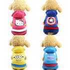 Small Pet Dog Cat Clothes Hoodie Puppy Warm Jacket Coat Jumpsuit Costume Apparel