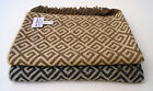 100% Baby Alpaca Geometric Maze Throw Blanket is all Natural image