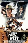191332 Once upon a time in the west Movie Wall Print Poster UK