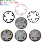 DRIVELINE Bike Bicycle Chainring 61/60/56/55/53T,fit BCD:130MM Crank