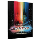 Star Trek MOTION PICTURE Movie Poster Framed Canvas Wall Art on eBay