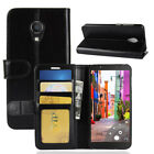 Business Leather TPU Wallet Card Slot  Case Cover For Alcatel 1C 3C 1X 3V Stand