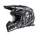 2019 ALL NEW ONeal 5 Series RIDER BLACK ADULT Motocross Helmet FREE SHIP
