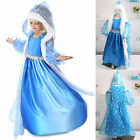 US Kids Girls Frozen Anna Elsa Princess Party Fancy Dress Up Cosplay Costume Lot