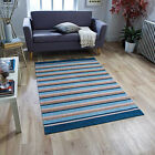 Machine Washable Rugs Pacific Flatweave Anti-Slip backing Rugs Cheap Cost Rugs