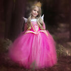 Girls Princess Cinderella Snow White Disney Cosplay Costume Party Fancy Dress US