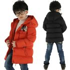 Winter Jackets For Boys Casual Hooded Warm Coat Baby Clothing Outwear Fashion