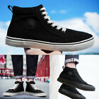 Mens fashion casual high top canvas shoes sneakers old skool boots