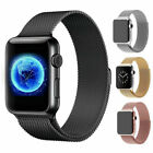 For Apple Watch Band 44mm 42mm 40mm 38mm Milanese iWatch Strap Series 4 3 2 1 US image