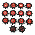 14/28pcs Soft Golf Shoe Spikes Metal Thread Studs Replacement For FootJoy