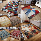 TRIBAL MODERN SOFT PILE RUGS ORIENTAL WEAVER ZANTE MULTI COLOUR AREA FLOOR RUGS