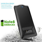 5500mAh Power Bank External Battery Charging Case for Samsung Galaxy Note 8