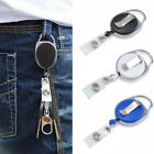 Внешний вид - One Retractable Reel Recoil ID Badge Lanyard Name Tag Key Card Holder Belt Clip