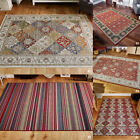 PERSIAN ORIENTAL TRIBAL PATTERN FLATWOVEN SMALL LARGE CARLUCCI HIGH QUALITY RUGS