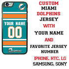 Miami Dolphins Phone Case Cover for iPhone X 8 PLUS iPhone 7 6 5 ipod 6 etc